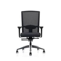 Prosedia Se7en Flex bureaustoel mesh synchroon contact wielen harde ondergrond
