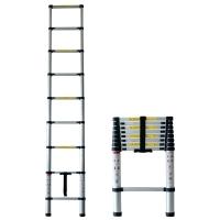 Pavo telescopische ladder 260cm 9 treden