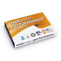 Evercopy Performance gerecycleerd papier A3 80g - 1 doos = 5 pakken van 500 vel