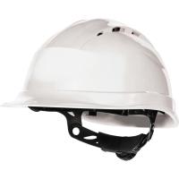 Deltaplus Quartz IV Up 8-punt veiligheidshelm PP wit