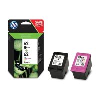 HP J3M80AE inkjet cartridge 62 zwart+kleur - C2P04AE+C2P06A [200+165 pagina s]