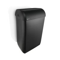 Satino Black afvalbak 43l zwart