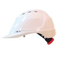 M-Safe MH6020 ABS helm wit met draaiknopinstelling