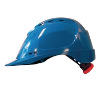 M-Safe MH6020 ABS helm blauw met draaiknopinstelling