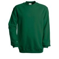 B&C set-in sweater groen - maat L - DS 5