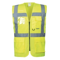 Portwest S476 hi-viz gilet Executive geel - maat L