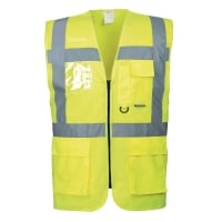 Portwest S476 hi-viz gilet Executive geel - maat XL
