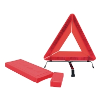 Viso gevarendriehoek 450x450x450mm rood