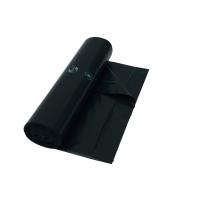 Vuilniszak 15 micron LDPE 95x100cm zwart - rol van 10