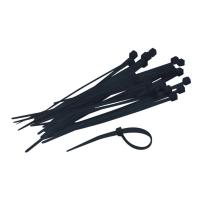 Kabelbinder 200 x 3,6 mm zwart - pak van 250