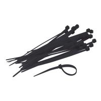 Kabelbinder 300 x 4,8 mm zwart - pak van 250
