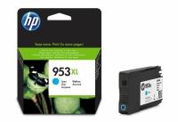 HP F6U16AE inkjet cartridge nr.953XL Hoge Capaciteit cyaan [1.600 pagina s]
