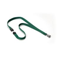 Durable 8127 textielband voor badge donkergroen - pak van 10