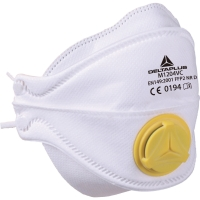 Deltaplus M1204V mondmasker met ventiel FFP2 - doos van 10