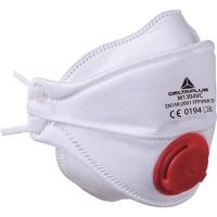 Deltaplus M1304V mondmasker met ventiel FFP3 - doos van 10