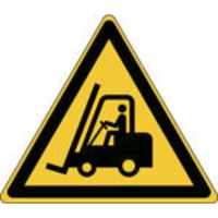Brady zelfklevend pictogram W014 Transportvoertuigen 315x273 mm