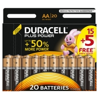 Duracell Plus Power AA 15+5 LR6