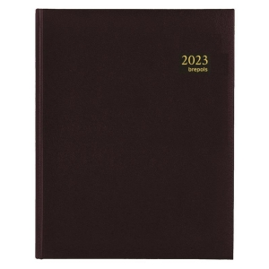 Brepols Concorde 240 bureau-agenda met Lima omslag zwart