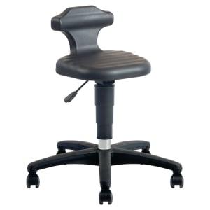Prosedia 9408 industriële zit- en stastoel, PUR, zwart