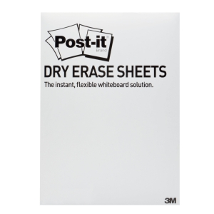 Post-it® Super Sticky Dry Erase 27,9 x 39 cm - pak van 15 vellen