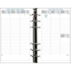 Exatime 17 vulling voor organiser 7dagen/2 pagina s verticaal