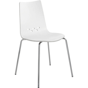 Spoon breakroom chair white - pack of 2