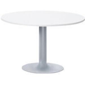 Round breakroom table 80 x 73,5 cm white