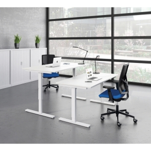 Essentiel Up bureau 160 x 80 cm wit