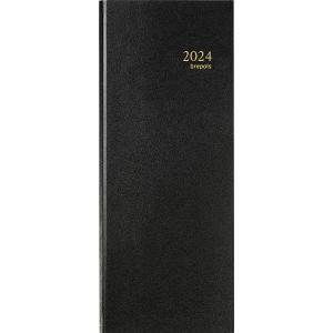 Brepols Saturnus 131 bureau-agenda met Lima omslag zwart