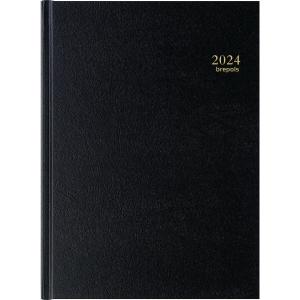 Brepols Bremax 2 bureau-agenda met Santex omslag zwart