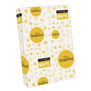 Rey Text & Graphics white paper SRA3 100g - pack of 500 sheets