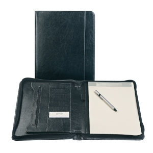 Brepols Palermo writing pad luxe with zipper + notepad A4