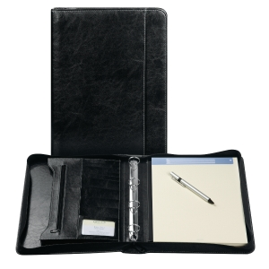 Brepols Palermo luxe writing pad + zipper + ringmechanism A4