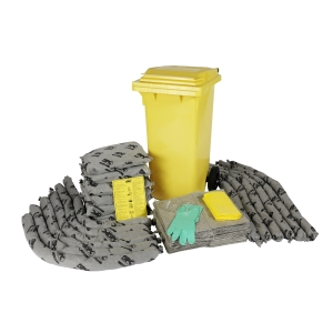 Brady SPC Universal Mobile container spill kit - 124L