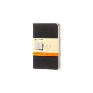 Moleskine P notitieboek gelijnd harde kaft zwart