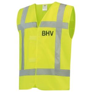 Tricorp V-RWS BHV hi-viz fluohesje, fluo geel, maat M/L, per stuk