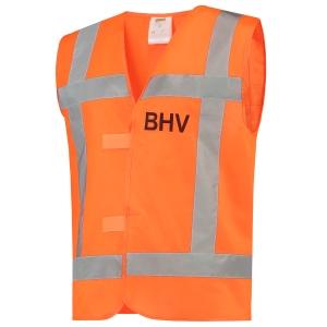 Tricorp V-RWS BHV hi-viz fluohesje, fluo oranje, maat XL/XXL, per stuk