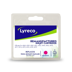 Lyreco compatible HP T6M07AE inkjet cartridge nr.903XL red [825 pages]
