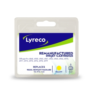 Lyreco compatible HP T6M11AE inkjet cartridge nr.903XL yellow [825 pages]