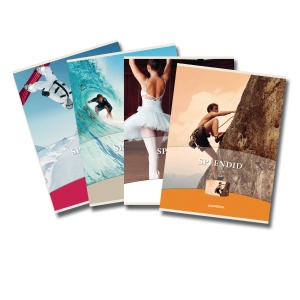 Aurora notebook A5 ruled 60 pages