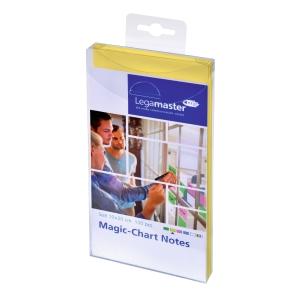 Legamaster Magic Chart Notes 10 x 20 cm geel - pak van 100