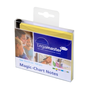Legamaster Magic Chart Notes 10 x 10 cm geel - pak van 100