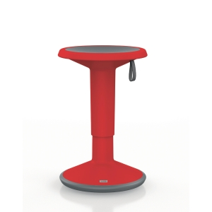INTERSTUHL UP 100U ERGONOMIC STOOL RED