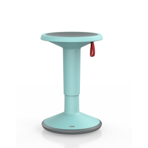 INTERSTUHL UP 100U ERGONOMIC STOOL ICE BLUE
