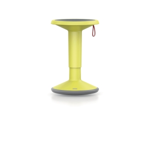 INTERSTUHL UP 100U ERGONOMIC STOOL FRESH YELLOW