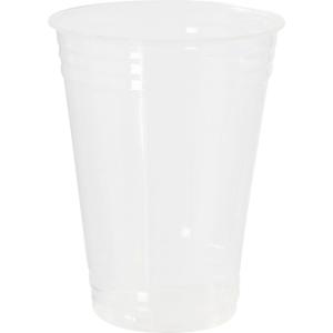 PK50 DUNI CUP TRANSP PLA 25CL