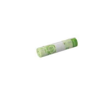 Vuilniszak bio-afbreekbaar Ecovio voor pedaalemmer 45x68cm of  25l - rol van 10