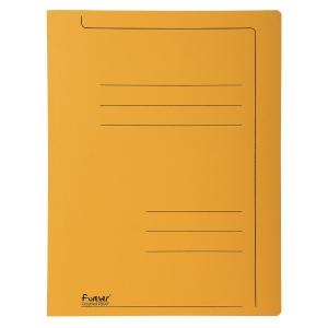 Exacompta snelhechtmappen A4 karton 275g oranje - pak van 10