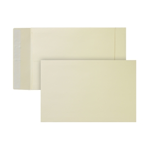 Bags 230x350x38mm peel and seal 170g cream - box of 125