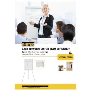 Promo pack: flipover met gratis flipchard pad en starter kit